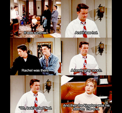 fuckyeahrachelgreen:  onebreath:  - Friends 2x08 'The One With the List'