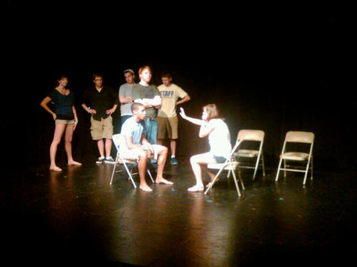 Full Ammo Improv, Penn State's premiere team, doing some scene in a jail probably. I'm really tired.
