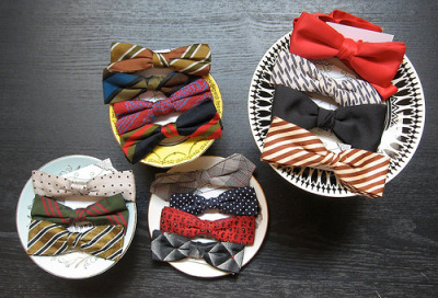 poppytalk: Bow Ties Everywhere!