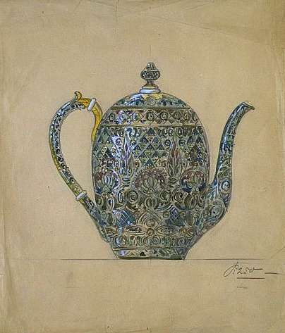 Fedor Ruckert Coffee Pot 1910