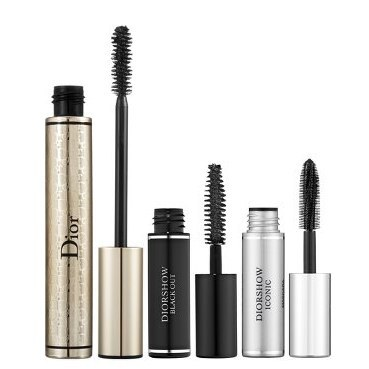 Dior Extase Mascara Set.  Love Dior mascara!  This set ($30) has got your lashes covered. It features a full-sized Diorshow Extase, a flash-plumping mascara that creates instant, oversize volume with just one coat. Also included is a mini Diorshow Iconic, which features soft elastomer bristles that lift, curl, and separate, and a mini Diorshow Black Out that intensifies with ultra-black kohl pigments. Mix and match each mascara to go from elegant to extravagant in an instant!