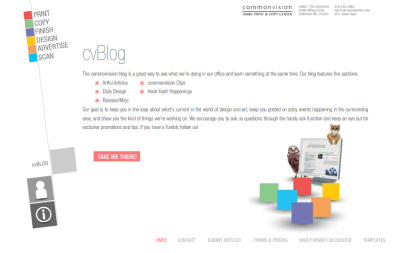 Website updated for the launch of our revamped blog. Thanks, Andy!