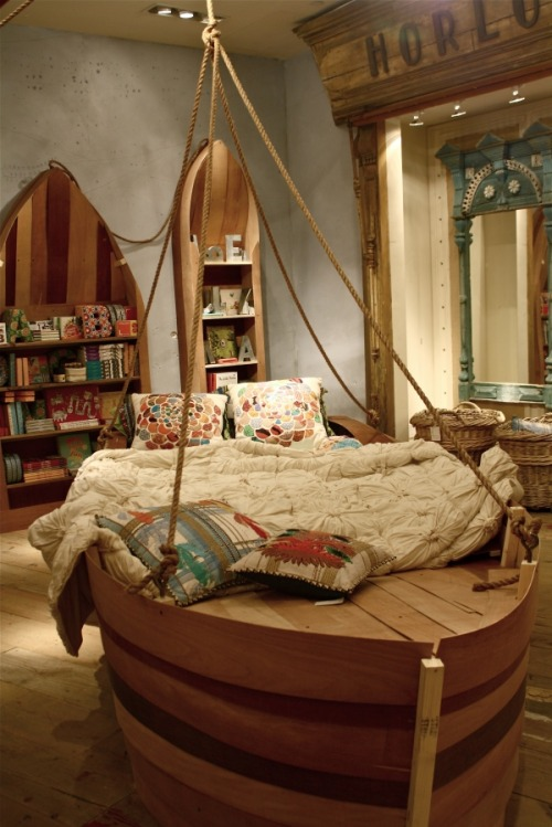 would you like to sleep in a sailboat? ; )
