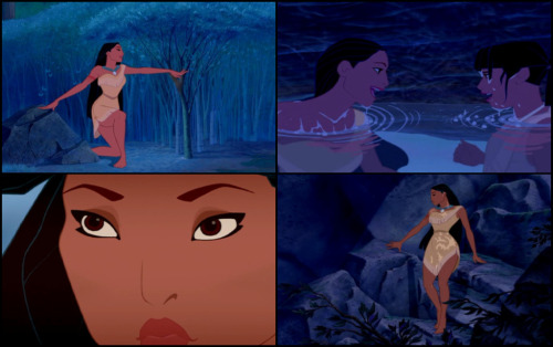 Irene Bedard, who provided the voice of Pocahontas, was also the physical model for the animated character