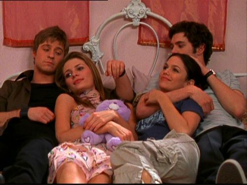 I love the fab four from The O.C.
