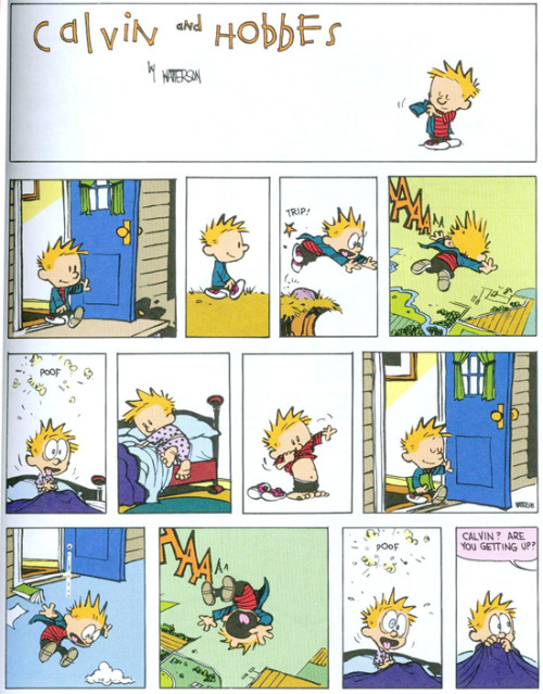 Christopher Nolan stole the idea of Inception from Bill Waterson.  via classicistmike: geektyrant
