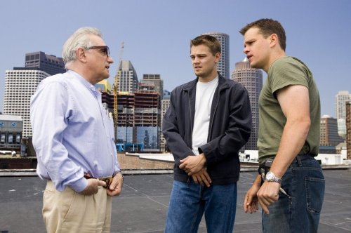 Martin Scorsese, Leonardo Di Caprio, and Matt Damon The Departed, directed by Martin Scorsese.  (Submit your filmmaking posts here)