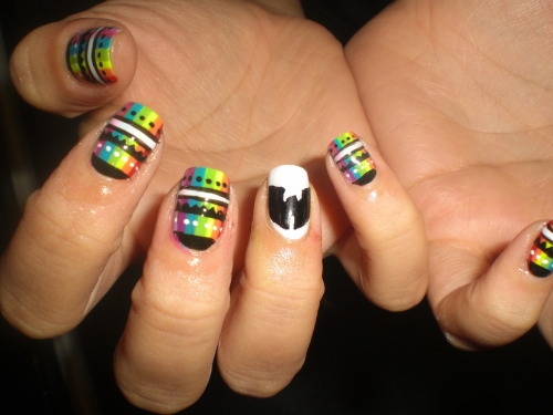 wahnails:  Sophie's Wu Nails