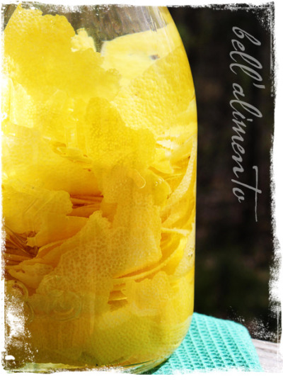 Going with that lemon trend… Limoncello (via Bell' Alimento) I've been meaning to make some of this all summer.  I'm probably going to use a high-proof vodka instead of grain alcohol, but to each her own!  :)