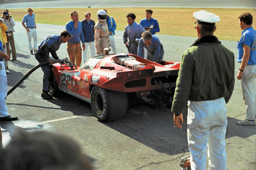 Ferrari 512S at the 24 Hours of Daytona, 1971.