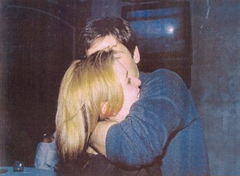 (season three wrap party, 1996) A little inebriation goes a long way.