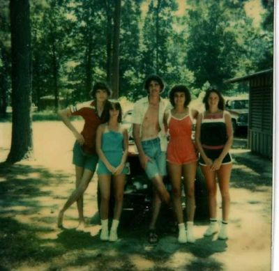 my parents, uncle, and aunts, 1979.