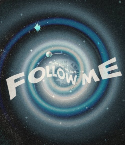 allons-y:  All of time and spaceFollow me.This was on a website where it would not be seen as doctor who fan art.It so is :P