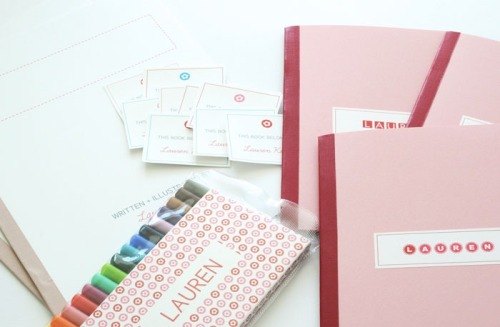 mollyirwin:  sally shim's personalized write-your-own book gift package. every detail is lovely.
