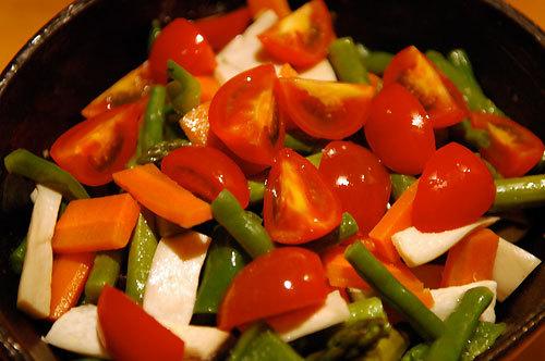 Steamed vegetables recipes