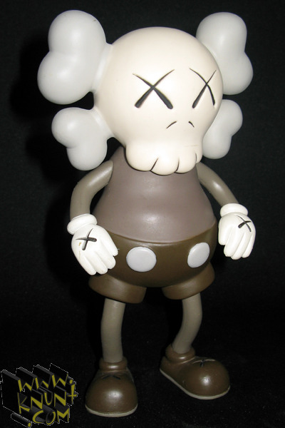 Kaws Companion by Bounty Hunter. One of the originals. You can see the similarity to Mickey in this design more as opposed to the current iterations he's producing.