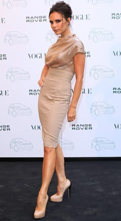 Victoria Beckham Launching Handbag Line We have a feeling that Victoria Beckham is going to be making some room  among her enormous Hermès Birkin collection for a new  brand of bag — her own. Rumors have been swirling for months that the celebrity designer is adding handbags to her hugely successful fashion dynasty, and now we can confirm that she is  in fact working with accessories superstar Katie Hillier on a line. Full story after the jump. [Victoria Bechkam in a dress of her own design. Photo: Danny Martindale,  Getty Images]