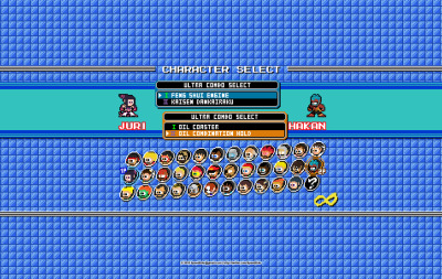 """Street Fighter IV"" ao estilo ""Mega Man"""