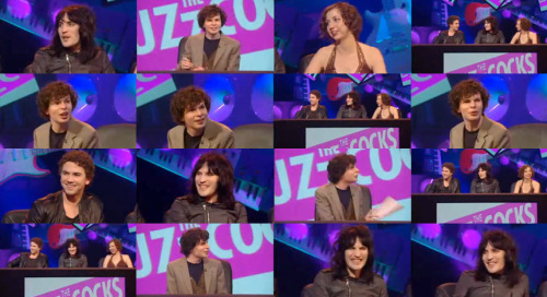 whitepajamas:  [Regarding teammate Richard Fleeshman.]Noel Fielding: Honestly, if you diss him one more time… I'll slash you up. Kristen Schaal: I'm gonna watch!Noel Fielding: I'm gonna give you a Chinese burn, and then Kristen's gonna pour… Simon Amstell: Pot noodle on me? Yeah, go on!Noel Fielding: Cream soda, this time. Simon Amstell: And then dragons are going to fly in and put bubbles in my head? Is that how it works? You just say funny words and it works, does it? Just throw out weird words - hippopotamus and juggling - is that what it is? Anyone can do that! I've got fact-based jokes! Noel Fielding: Don't make me cut the stuffing out of your pillow. Simon Amstell: With a pair of scissors made of glitter? Noel Fielding: [matter-of-factly] No! With a motorbike made of jealousy!