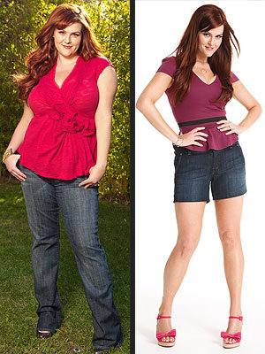 "http://stylenews.peoplestylewatch.com/2010/08/04/sara-rue-i-lost-50-pounds/ Sara Rue lost 50 pounds and all throught HEALTHY habits all during a very healthy timeline, nothing ridiculous or ""ASAP"" situation. Workout routines and healthy eating! Fitspo for sure! <3"