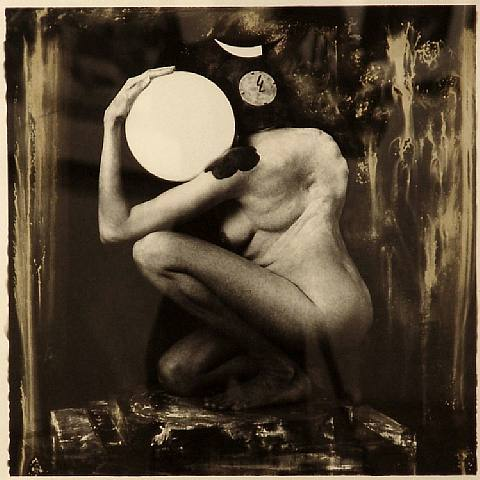 Joel-Peter Witkin Art Deco Lamp 1986