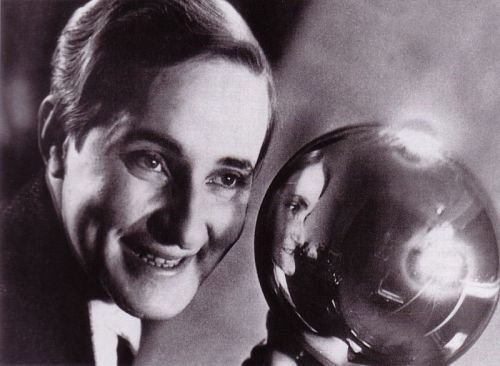Self-portrait with silver ball,1931 by Aenne Biemann