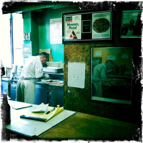 man in the picture… avenue j pizza