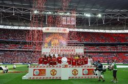 Manchester United — 2010's Community Shield winners!