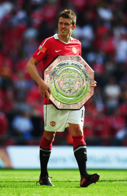"Carrick: ""Does this look awesome on me or what?!""."