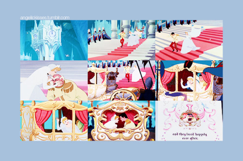 DAY 30: Favorite happy ending Cinderella honorable mentions: Sleeping Beauty The Little Mermaid