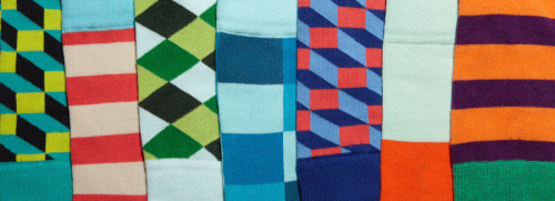Happy Socks on Gilt today — My favorite fun socks are going to be featured on Gilt.com today. They're being sold in packs of 3 for $19, which is about 33% off the regular price. The downside is that you don't get to pick which three you get together in a pack. If you don't have a Gilt invite, then click here.