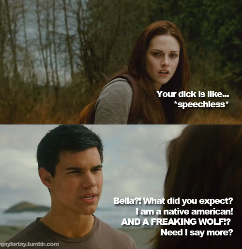 I mean, really, Bella. Do your researches! :D HRRRRRRR!