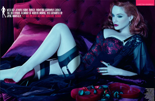 fuckyeahchristinahendricks:  GQ UK (Sept.2010)