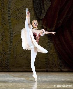 Alina Somova. Photo by: Gene Schiavone.