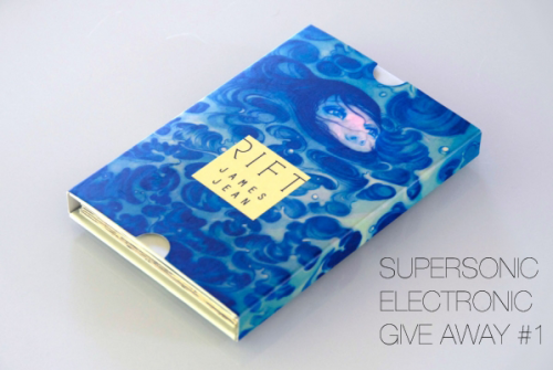 supersonicelectronic:  FIRST EVER SUPERSONIC ELECTRONIC CONTEST/GIVE-AWAY!!  One lucky winner will receive one copy of James Jean's brand new book, RIFT.  All you have to do is reblog this post and/or be following Supersonic Electronic on Twitter and I will choose one of you at random.  That's it!!  Winner will be notified via available contact information.  Contest ends on August 21st, 2010 at 12:00am Pacific Time.  !!!