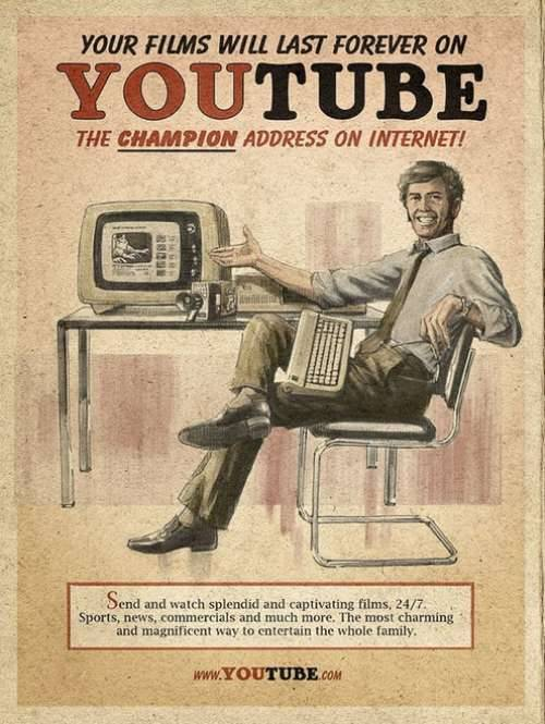 If old-school ads were made for modern day websites | theCHIVE