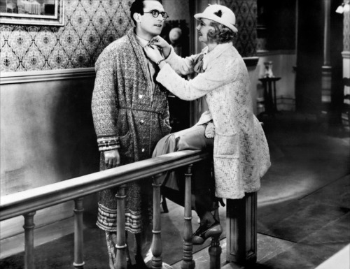 safetylast:  Harold Lloyd and Una Merkel The Cat's Paw - (1934)