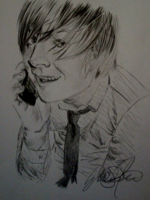 check out this unbelievable drawing of ben by emilie!