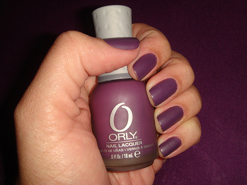 shoesforall | fuckyeahnailpolish:   Purple Velvet by Orly