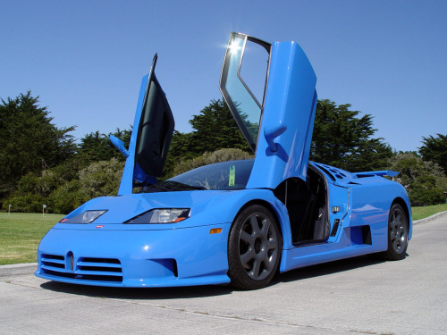 The Bugatti EB 110  If you are looking to buy an EB 110 and have an extra €600,000 ($943,620 USD) F1 great Michael Schumacher has a yellow one for sale on JamesList. Only 2,875 miles!