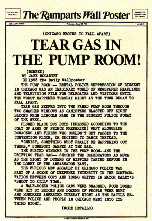 babylonfalling:  Tear Gas In The Pump Room!