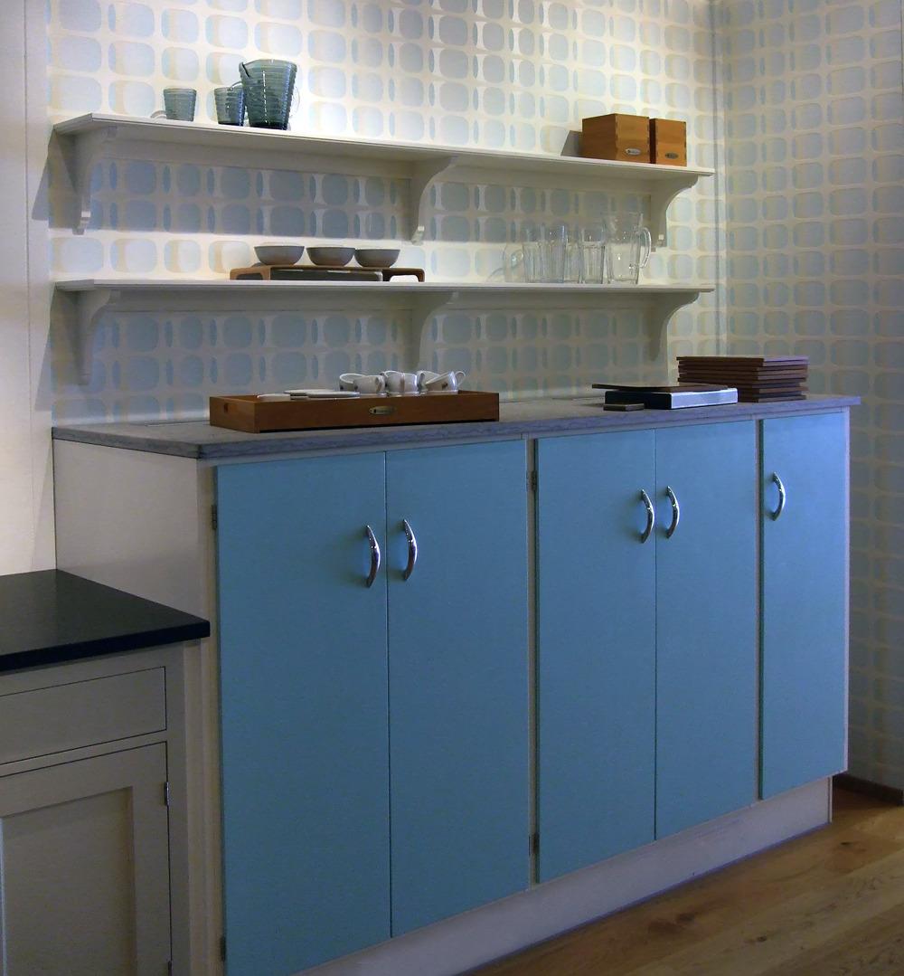 A quirky little kitchen showroom display in... | Scandinavian ...