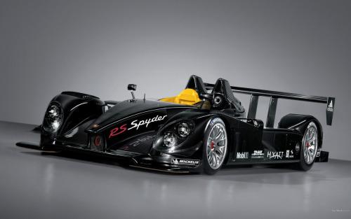 Porsche RS Spyder LMP2 Race Car Pictures