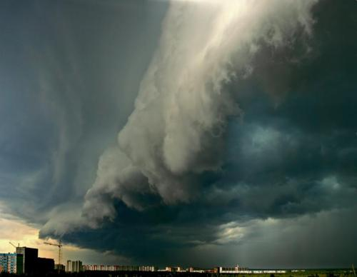 Before the Storm - Surgut, Russia.