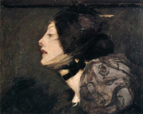 darksilenceinsuburbia:  French Girl by Bessie MacNicol