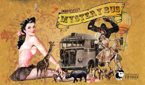 Mystery bus revisted..more to come, posters and postcards are on there way!