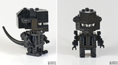 Posted for @PeteVenters - Lego Alien! pigtailsandcombatboots:  aliensandpredators:  CubeDude LEGO alien via Izismile  Awww…so cute, I want one.