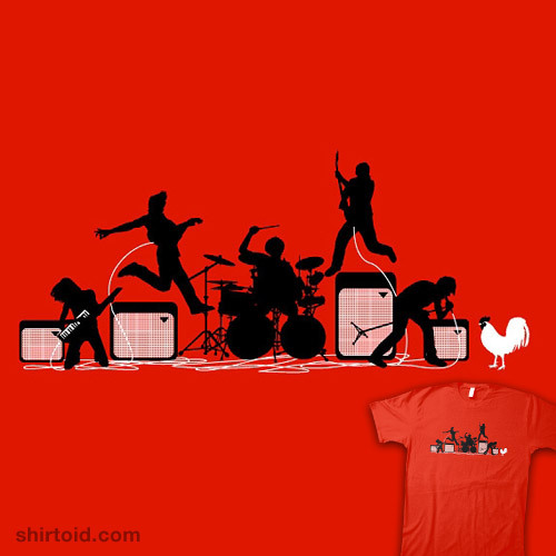 shirtoid:  Rock Out With Your Cock Out is back in stock at Threadless  (via shirtoid)