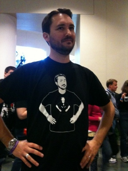 Recursive Wil Wheaton. A geek's wet dream.