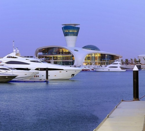 754779:  simplypi:  The Yas Island Yacht Club by Omiros One Architecture